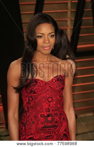 LOS ANGELES - MAR 2:  Naomie Harris at the 2014 Vanity Fair Oscar Party at the Sunset Boulevard on March 2, 2014 in West Hollywood, CA