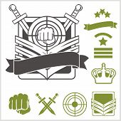 picture of special forces  - Special forces patch set  - JPG