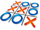 stock photo of tic-tac-toe  - Success concept - JPG