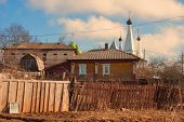 foto of uglich  - Old Russian provincial town of Uglich in Golden Ring of Russia - JPG