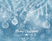 picture of teardrop  - Christmas background - JPG