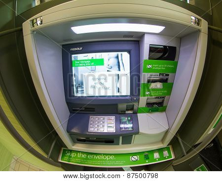 Td Bank Atm Machine, Toronto,canada
