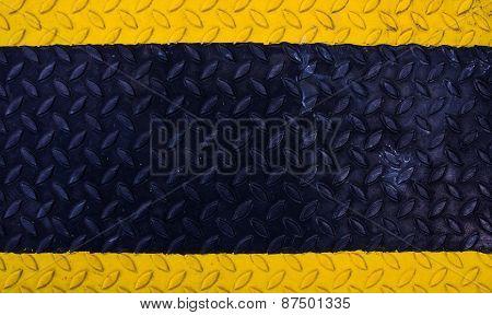 Black Yellow Metallic Background