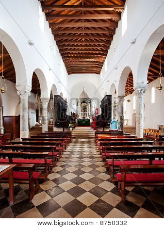 Interior Old Cathedral