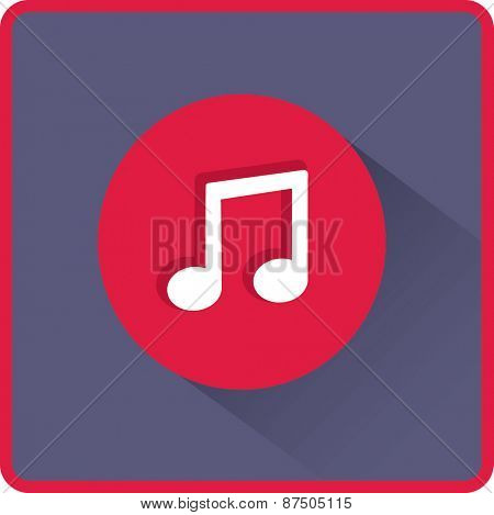Flat Vector Note icon