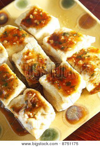 Chinese food, tofu