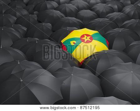 Umbrella With Flag Of Grenada