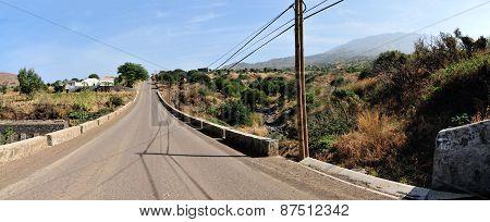 Preparing Road For Asphalt