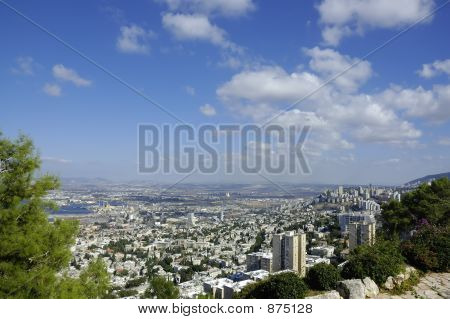 View Of Haifa