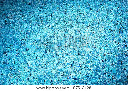 Swimming Pool Water. Aqua Texture