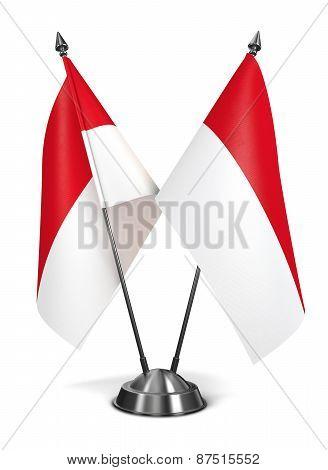 Indonesia - Miniature Flags.