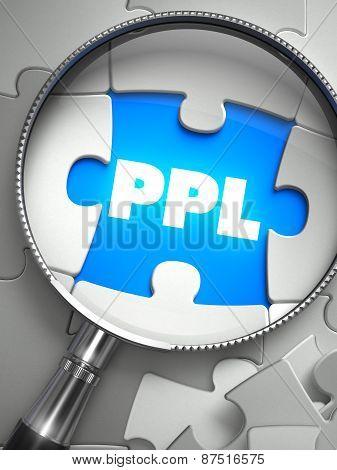 PPL - Missing Puzzle Piece through Magnifier.