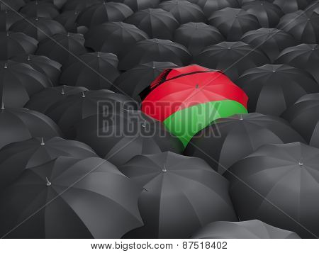 Umbrella With Flag Of Malawi