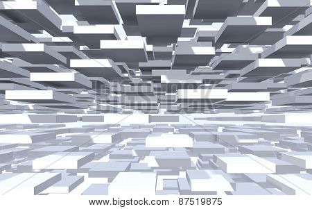 Abstract Background Of Panels.