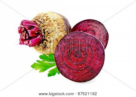 Beetroot with parsley