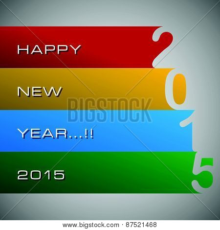 Abstract of Happy New Year 2015