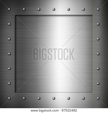 Brushed Steel Frame