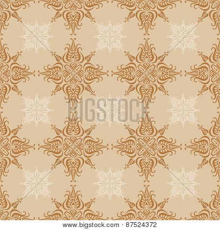 Vector elegant seamless pattern.