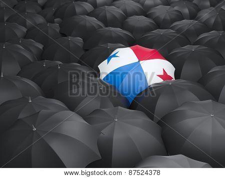 Umbrella With Flag Of Panama