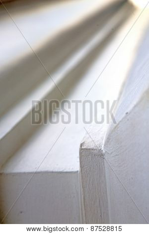 Thailand  Bangkok     In The  Concrete   Brick Shadow Angle