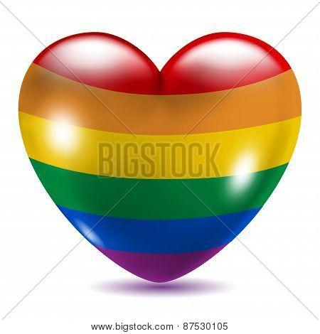 Heart Shaped Gay Symbol