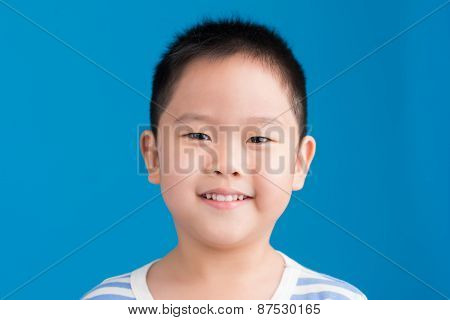 Smiling Chinese kid