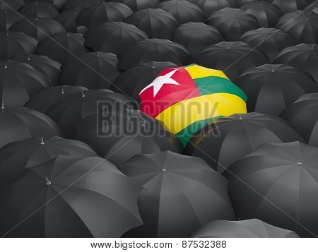 Umbrella With Flag Of Togo