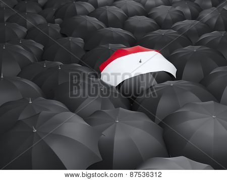 Umbrella With Flag Of Yemen