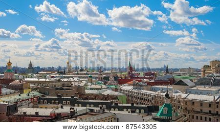 Moscow top view