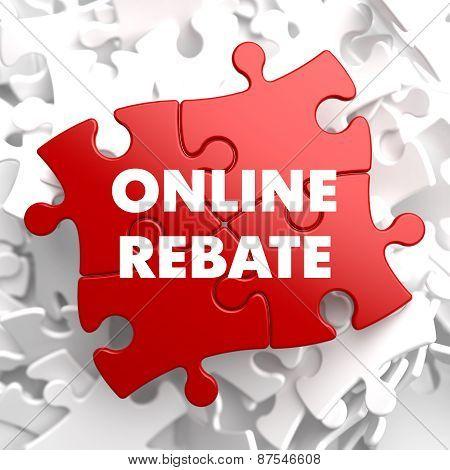 Online Rebate on Red Puzzle.