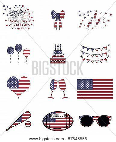 American celebration and symbols