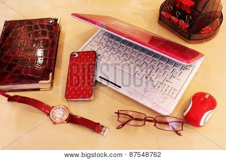 Desktop For Business Lady