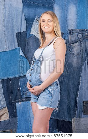 Denim For Pregnant Women.