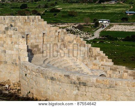 Ruins Of Ancient Parliament Building. Patara,turkey