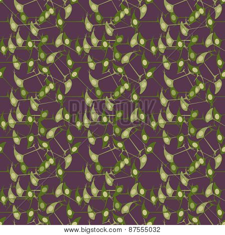 scientific background with brain cells neurons, seamless pattern