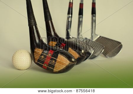Aged Golf Driver