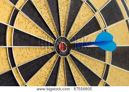 Blue Dart In Bull's Eye