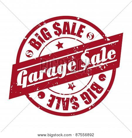 garage sale  design