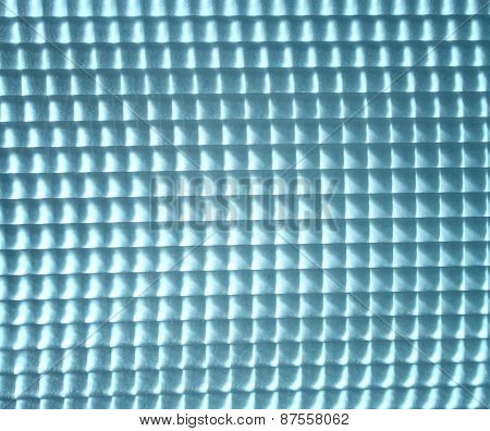 Background Of Squared Glass With Glow
