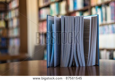 Standing Book