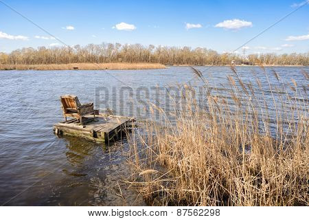Armchair On The Lake