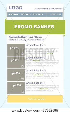 Newsletter Business Template