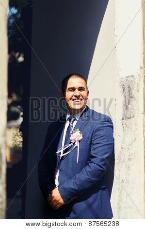 Wedding Groom Portrait