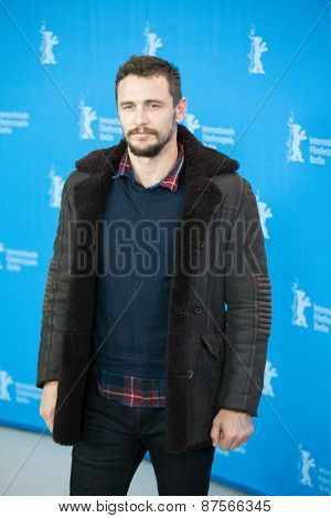 BERLIN, GERMANY - FEBRUARY 10: Actor James Franco attend the 'Every Thing Will Be Fine' photocall. 65th Berlinale International Film Festival at Grand Hyatt Hotel on February 10, 2015