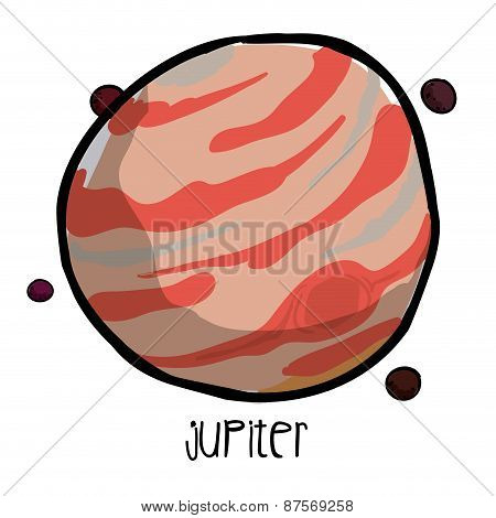 jupiter drawn