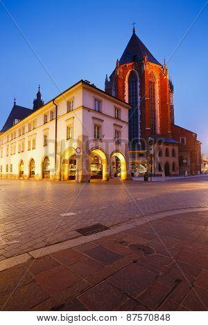 Square in Krakow.