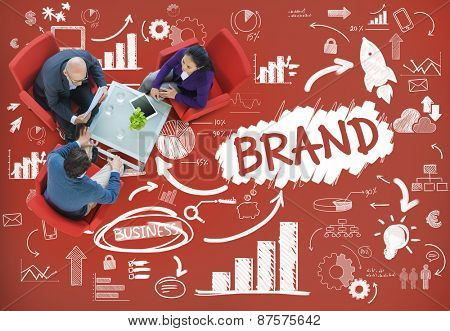 Brand Commercial Marketing Product Branding Concept