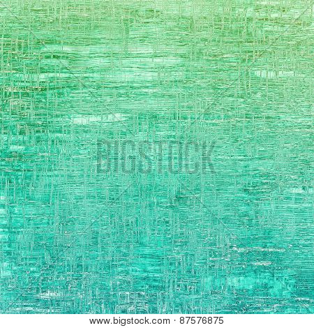 Old grunge template. With different color patterns: green; blue; cyan