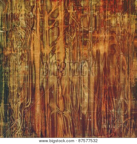 Antique vintage texture, old-fashioned weathered background. With different color patterns: yellow (beige); brown; gray
