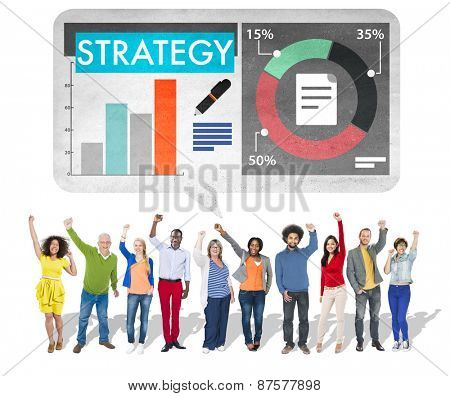 Strategy Business Analysis Teamwork Concept